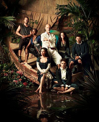 Crossbones - Season 1- David Hoflin, Tracy Ifeachor, Yasmine Al Massir, John Malkovich, Claire Foy, Chris Perfetti and Richard Coyle