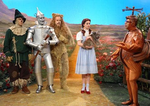 "Saturday Night Live - Season 36 - ""Anne Hathaway"" - Andy Samberg, Taran Killam, Bill Hader, Anne Hathaway and Fred Armisen"
