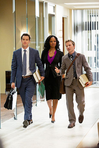 Franklin & Bash - Season 2 - Mark-Paul Gosselaar, Garcelle Beauvais and Breckin Meyer