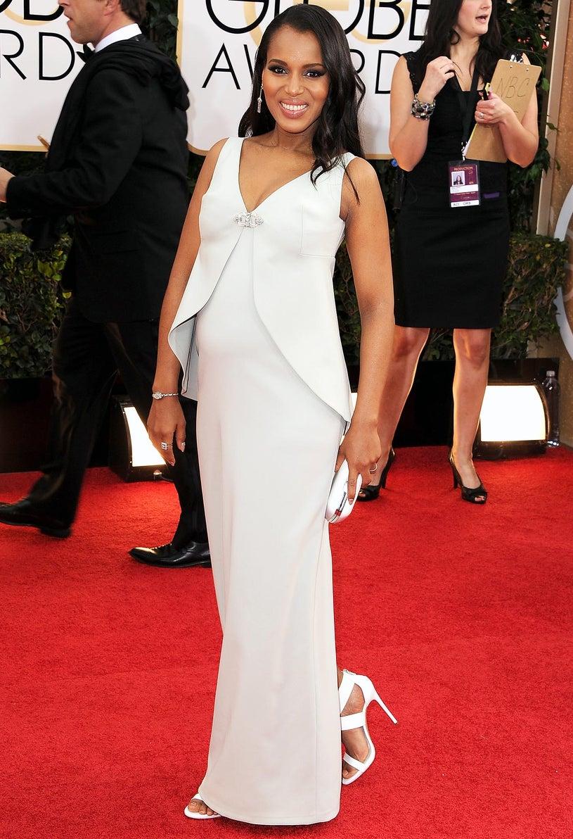 Kerry Washington - 71st Annual Golden Globe Awards in Beverly Hills, California, January 12, 2013