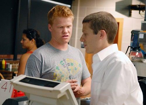 "Friday Night Lights - Season 3, ""How the Other Half Lives"" - Zach Gilford as Matt Saracen, Jesse Plemons as Landry Clarke"