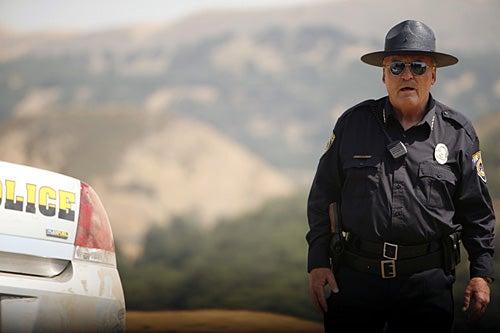 Meteor - Stacy Keach as Sheriff Crowe