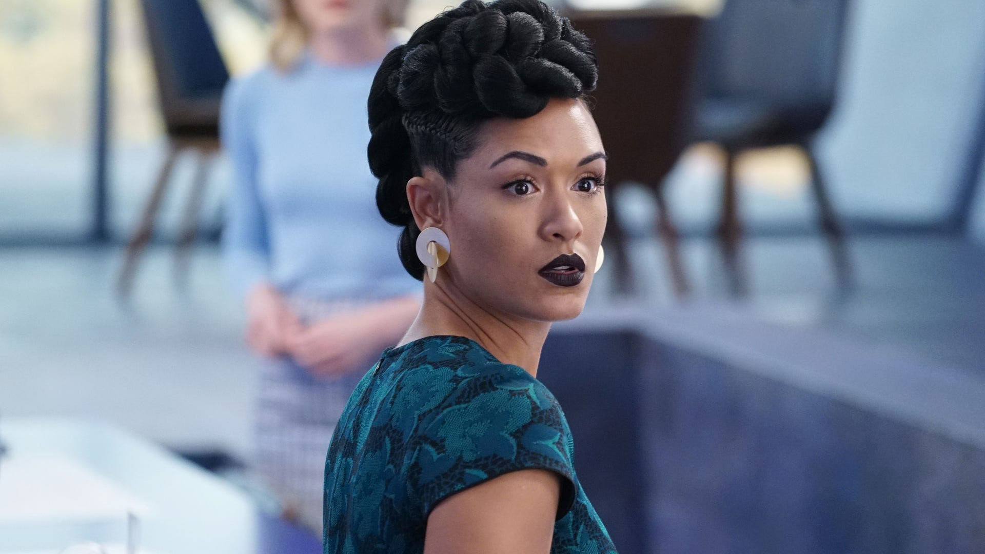 Grace Byers; The Gifted