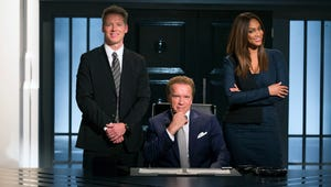 """The New Celebrity Apprentice: And Arnold's Version Of """"You're Fired"""" Is..."""