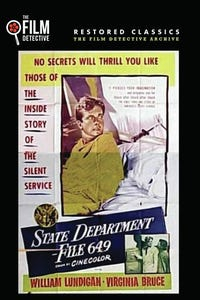 State Department---File 649 as Peggy Brown