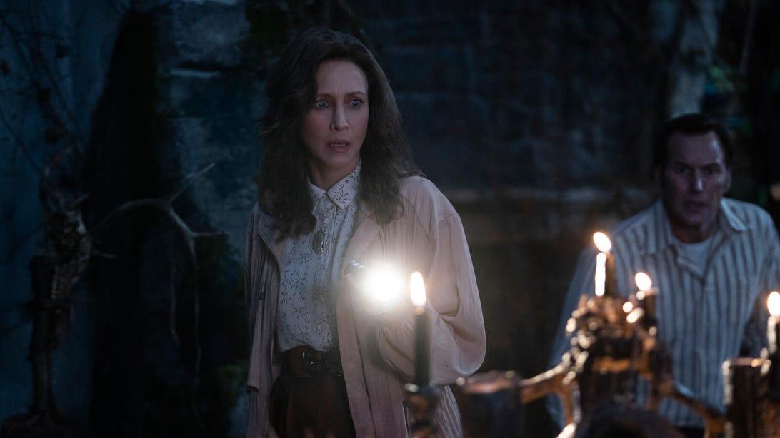 Vera Farmiga and Patrick Wilson, The Conjuring: The Devil Made Me Do It