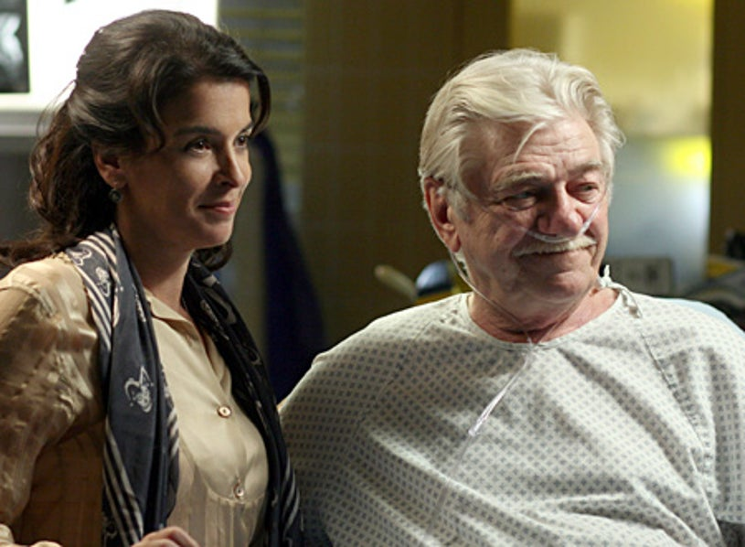 """ER - """"Photographs and Memories"""" - Annabella Sciorra as Diana Moore, Seymour Cassel as Alfred Gower"""