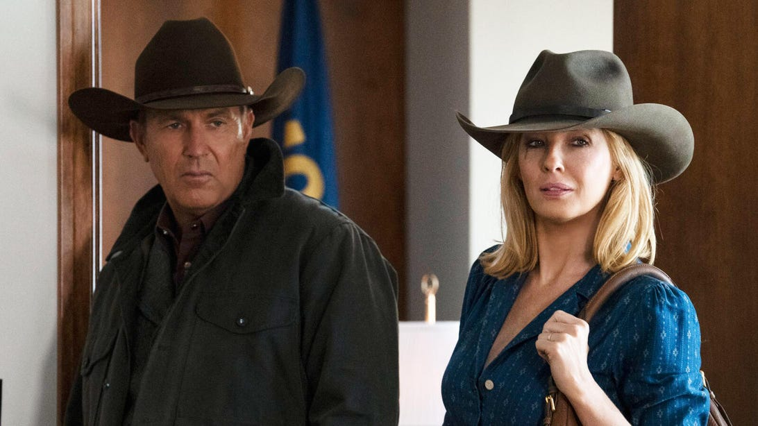 Kevin Costner and Kelly Reilly, Yellowstone