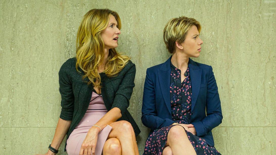 Laura Dern and Scarlett Johansson, Marriage Story