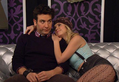 "How I Met Your Mother - Season 8 - ""Ring Up"" - Josh Radnor, Ashley Benson"