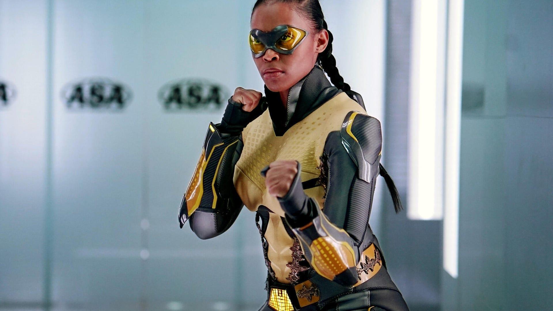 Nafessa Williams, Black Lightning