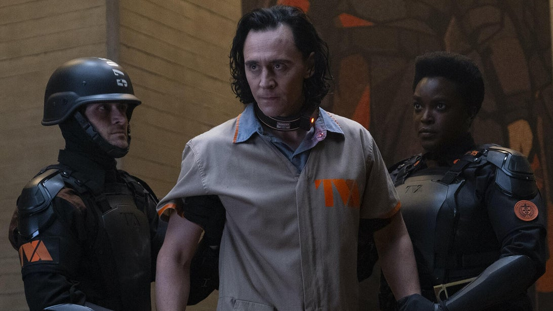 Tom Hiddleston and Wunmi Mosaku, Loki