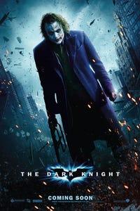 The Dark Knight as Joker
