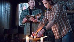 """Supernatural at Comic-Con: Dean's Coming Back """"Quickly"""" --- But There's a Catch"""