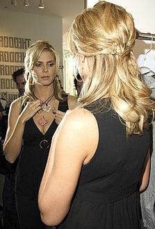 Heidi Klum - The Heidi Klum Collection For Mouawad Jewelry Showcase, March 1, 2006