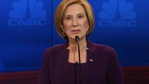 "GOP Debate: Carly Fiorina Says She's ""Hillary Clinton's Worst Nightmare"""