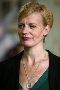 Anastasia Hille as Angela