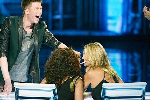 America's Got Talent - Season 8 - Colins Key, Mel B and Heidi Klum