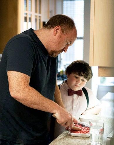 "Louie - Season 3 - ""Never"" - Louis C.K. and Jeremy Shinder"