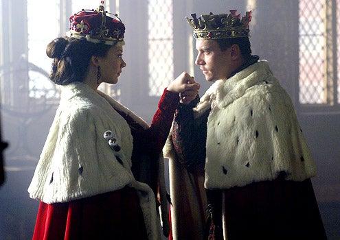 The Tudors - Season 2 - Episode 2 - Natalie Dormer as Anne Boleyn and Jonathan Rhys Meyers as Henry VIII