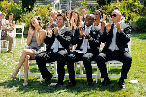 "Psych - Season 7 - ""Deez NUPs"" - Maggie Lawson, James Roday, Dule Hill and Corbin Bernsen"