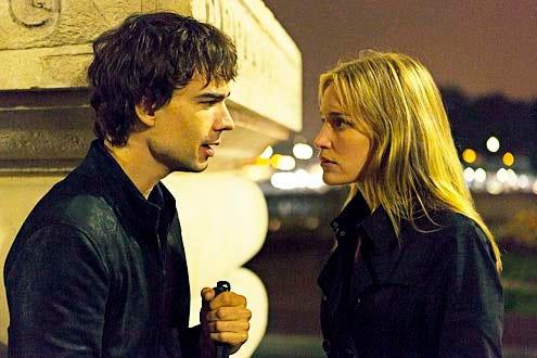 "Covert Affairs - Season 5 - ""Embassy Row"" -  Christopher Gorham and Piper Perabo"
