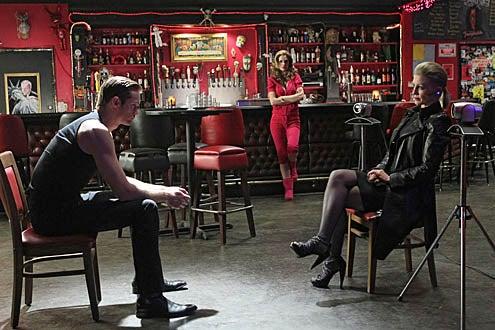 True Blood - Season 3 - Alexander Skarsgard, Kristin Bauer van Straten and Jessica Tuck