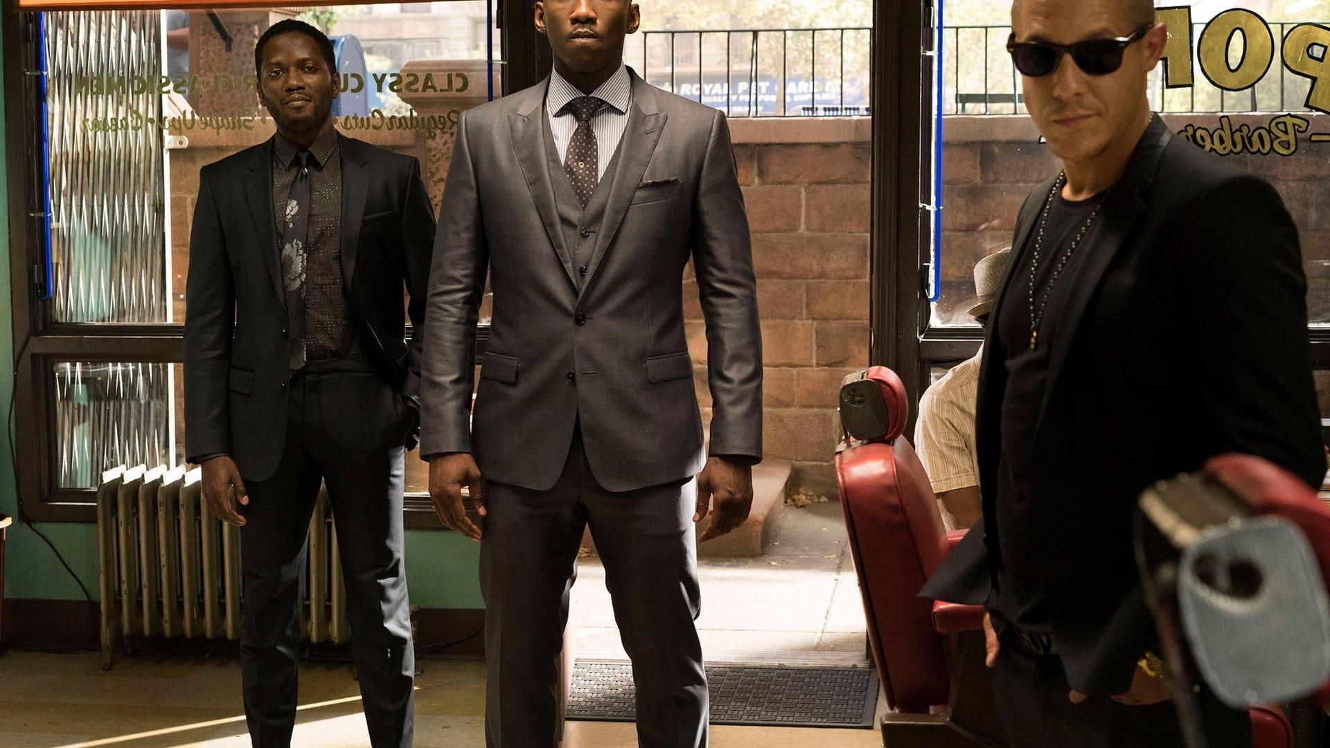 Jeremy Sample, Mahershala Ali, Theo Rossi, Marvel's Luke Cage