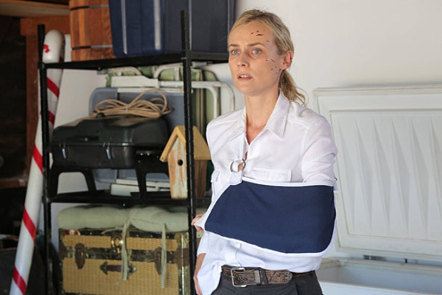 """The Bridge - Season 1 - """"Old Friends"""" - Diane Kruger as Sonya Cross"""