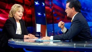 Top Moments: Clinton Name-Drops In on Colbert, The Bridge Makes an Eye-Popping Move