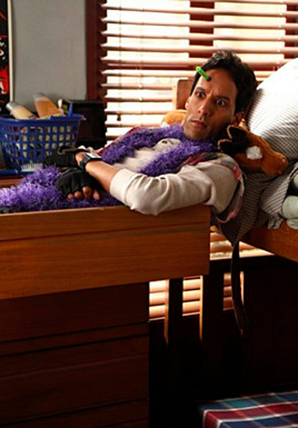"Community - Season 1 - ""Communication Studies"" Episode 116 - Danny Pudi as Abed"