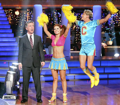 Dancing With The Stars - Season 13 - Tom Bergeron, Anna Trebunskaya and Carson Kressley