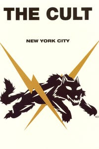 The Cult: Irving Plaza, New York City as Drums