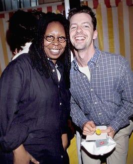 Whoopi Goldberg and Sean Hayes - 1999 Elizabeth Glasser Pediatric Aids Foundation Fundraiser