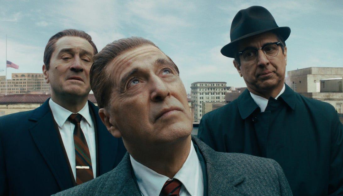 Robert De Niro, Al Pacino, and Ray Romano, The Irishman