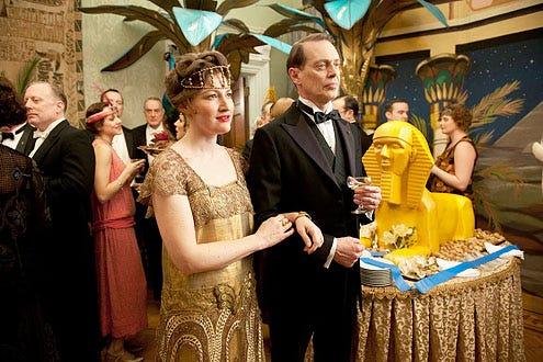 "Boardwalk Empire - Season 3 - ""Resolution"" - Kelly Macdonald as Margaret Thompson and Steve Buscemi as Nucky Thompson"