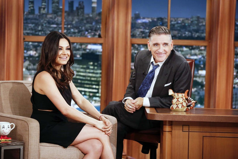 The Late Late Show with Craig Ferguson - Mila Kunis and Craig Ferguson