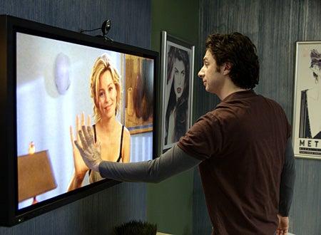 "Scrubs - Season 6, ""My Friend With Money"" - Elizabeth Banks as Dr. Kim Briggs, Zach Braff as J.D."