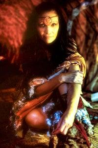 Michelle Thrush as Rainbow Woman