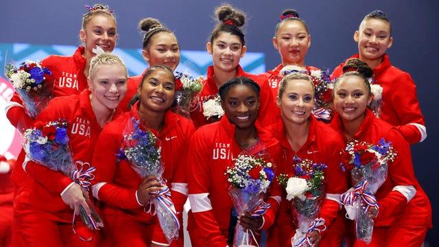 USA 2021 Gymnastics Team