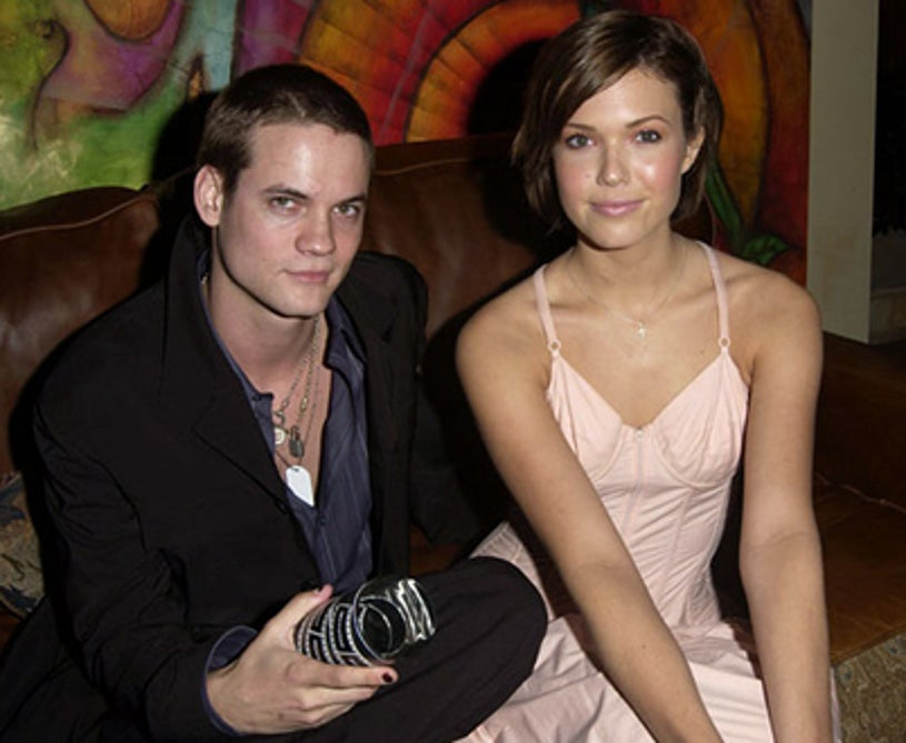 Shane West and Mandy Moore - Movieline's 4th Annual Young Hollywood Awards -  2002