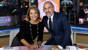 """Katie Couric Said Matt Lauer Pinched Her Butt """"A Lot"""" in 2012 Interview"""