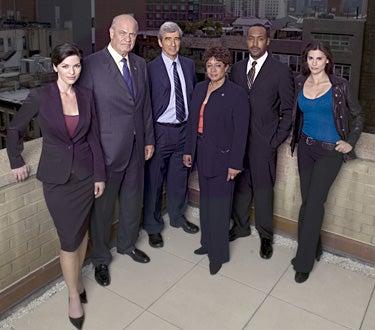 Law & Order - 17th Season cast