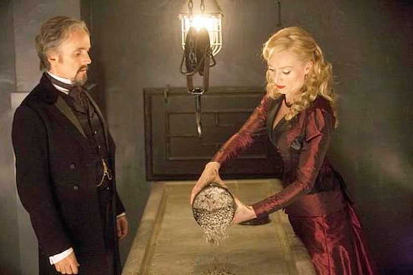 """Dracula - Season 1 - """"From Darkness to Light"""" - Ben Miles and Victoria Smurfit"""