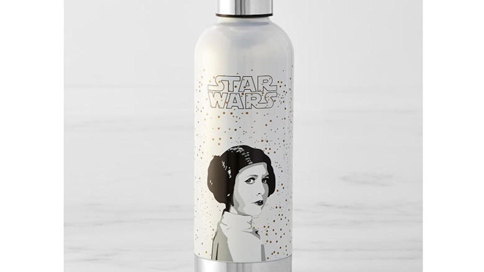 Princess Leia water bottle
