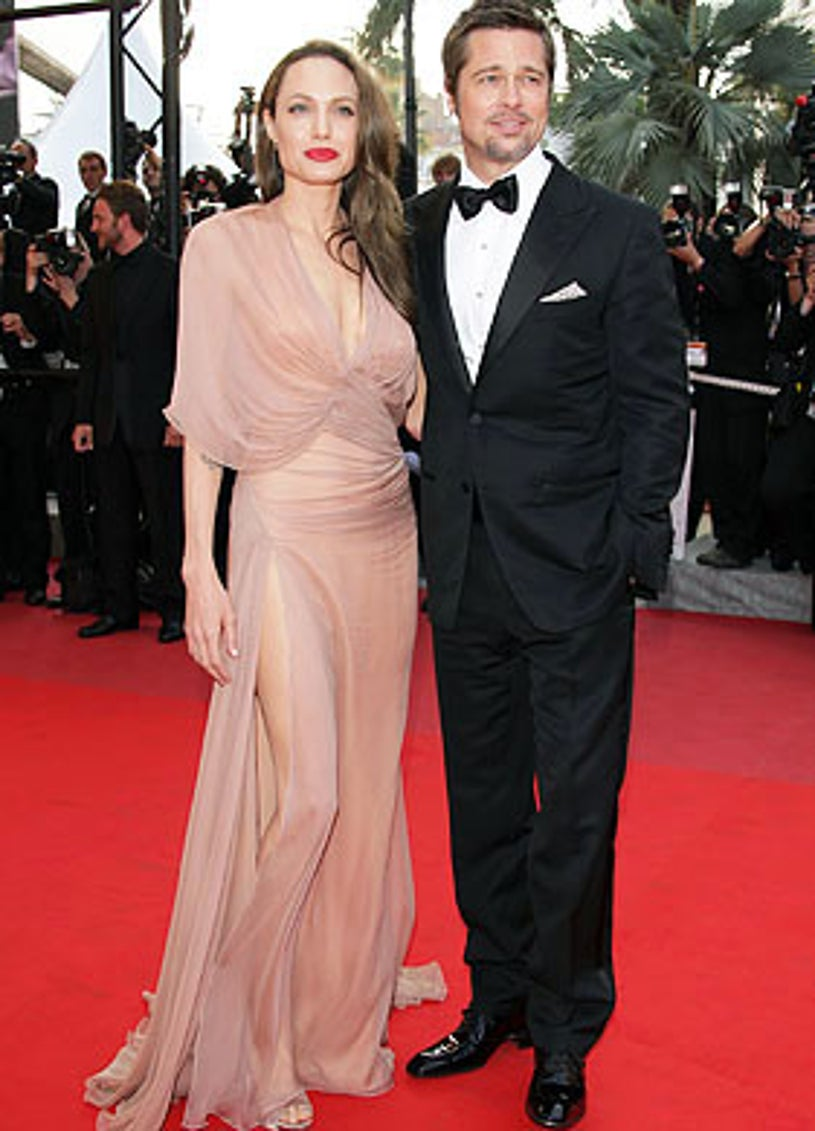 Angelina Jolie and Brad Pitt - The  'Inglourious Basterds' premiere at the Grand Theatre Lumiere during the 62nd Annual Cannes Film Festival in France, May 20, 2009