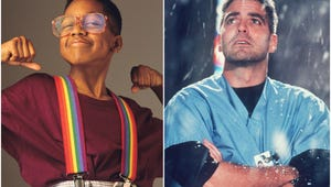 This Steve Urkel-George Clooney Story Is the '90s Nostalgia Moment You All Missed