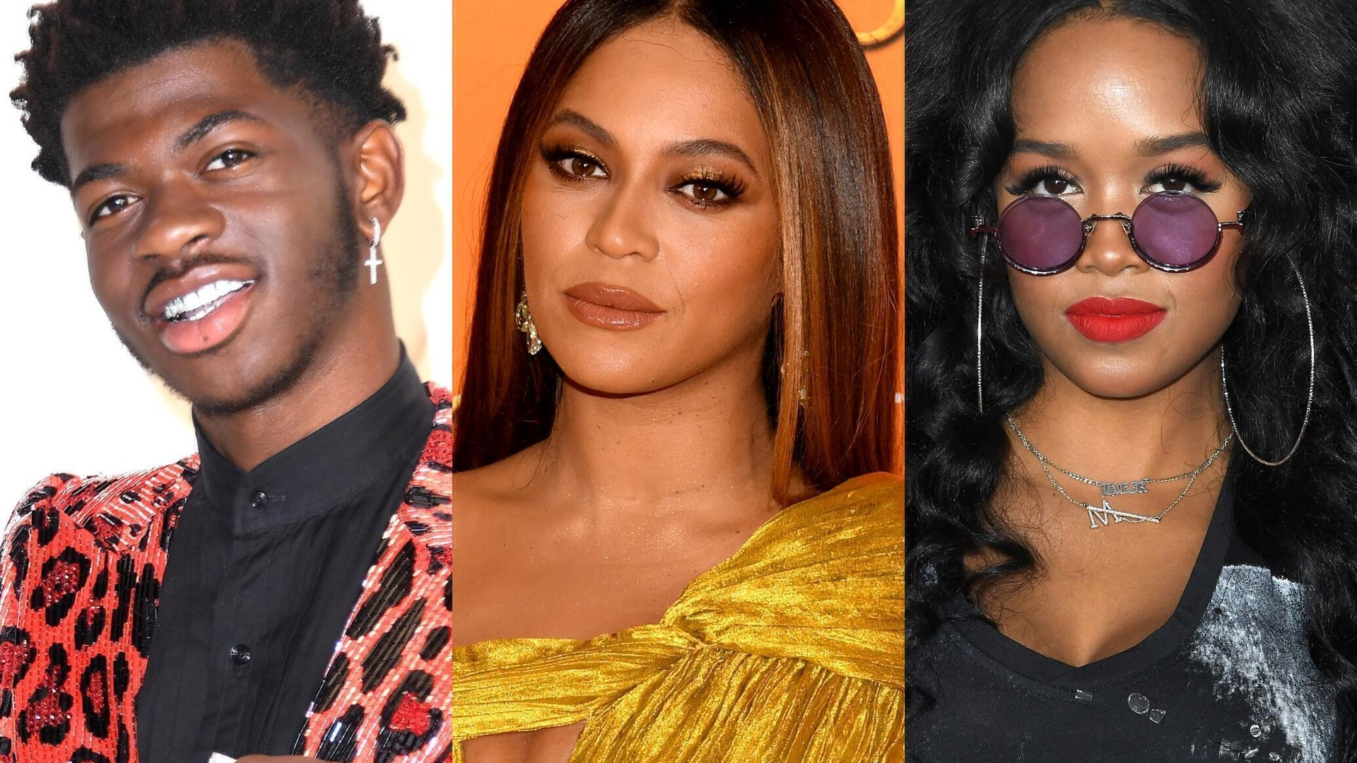 Lil Nas X, Beyonce, and H.E.R.