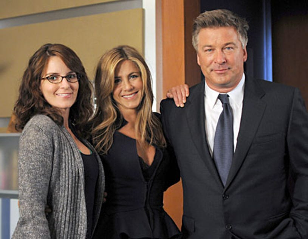"30 Rock - Season 3, ""The One With the Cast of Night Court"" - Tina Fey, Jennifer Aniston, Alec Baldwin"