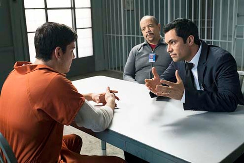 """Law & Order: Special Victims Unit - Season 15 - """"Betrayal's Climax"""" - Ice-T and Danny Pino"""